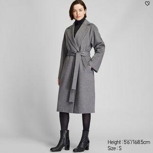 Uniqlo Wool Trench Coat